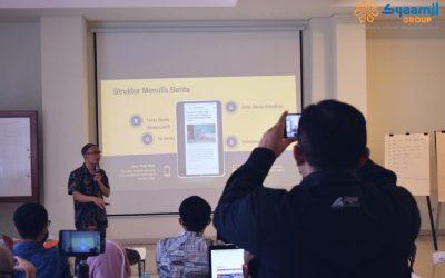 Menjadikan 'Tulisan' sebagai Media Berdakwah bersama Syaamil Group