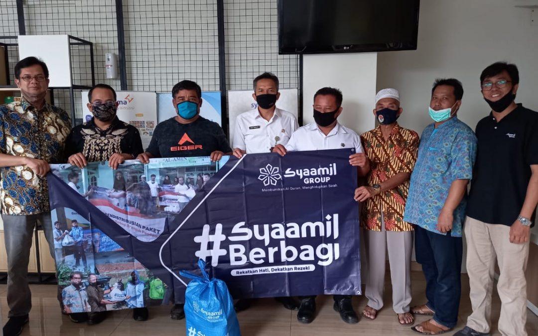 Meski Terhalang Pandemi, Syaamil Group Tetap Bersilaturrahim dengan Syaamil Berbagi