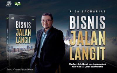 Buku Bisnis Jalan Langit Karya Riza Zacharias