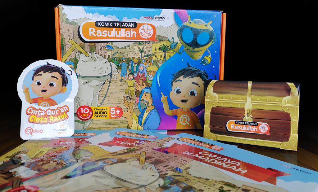 Riko The Series | Komik Teladan Rasulullah | Syaamil Quran